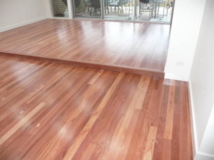Alfords Point floor polishing