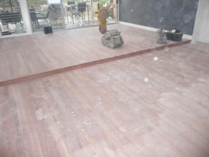 Alfords Point floor Sanding
